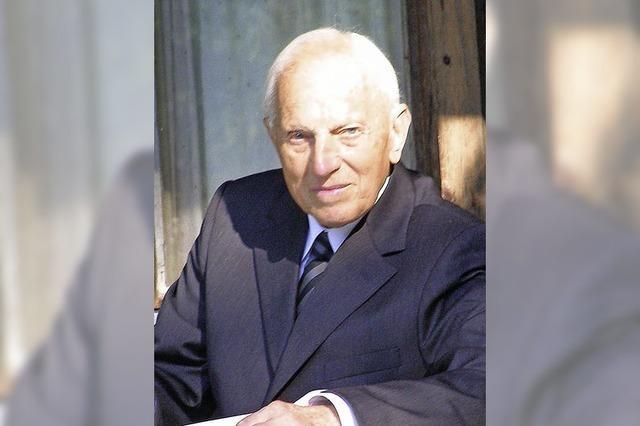 Friedenweiler gedenkt Josef Kary