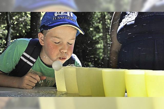 Kinderferienprogramm mit kniffeligen Aufgaben