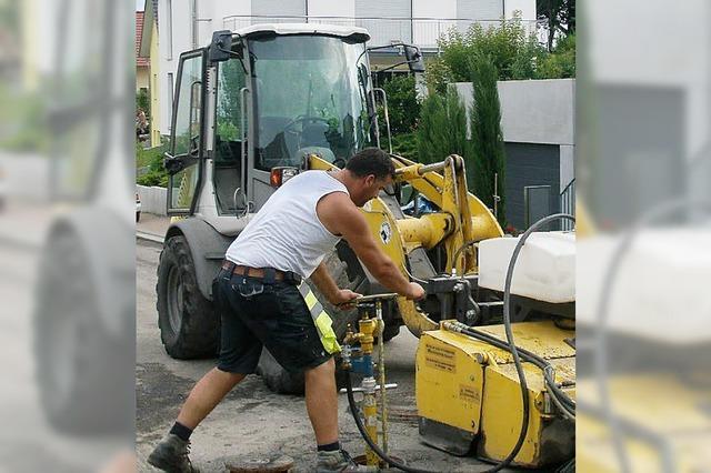 Zahlreiche Baumaßnahmen in Ettenheim
