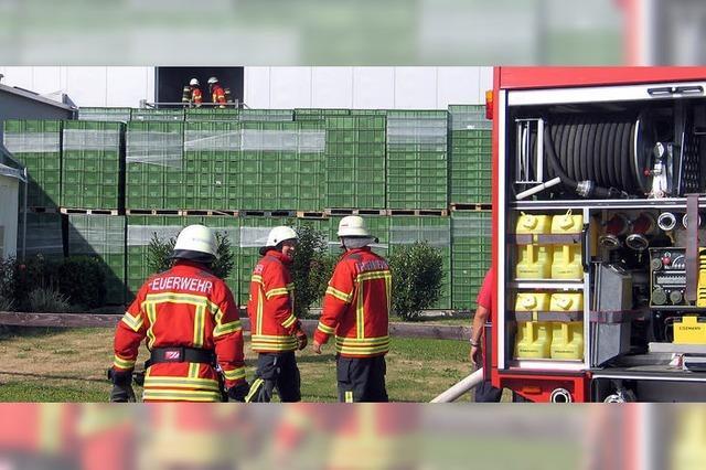 Kühlmitteldampf löst Brandalarm aus