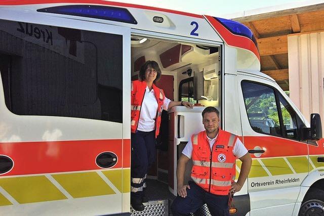 Neuer Rettungswagen ist im Einsatz