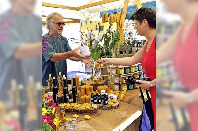 Regionalmarkt: Seife, Sekt und Sirup – alles selbst gemacht