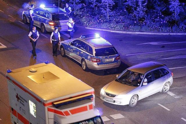 Heiße Nacht für die Polizei