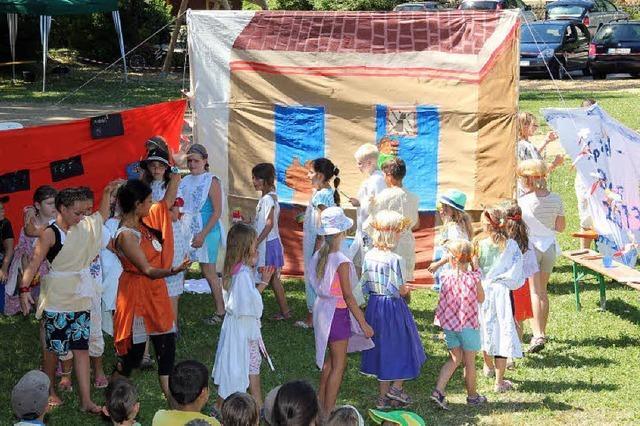 Spaß im griechisch-römischen Stil