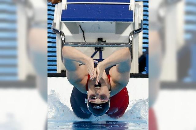 Die Teenies schwimmen der Konkurrenz in Barcelona davon