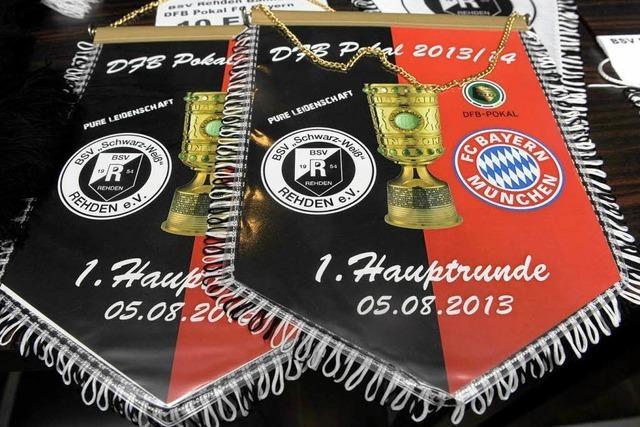 BSV Rehden freut sich auf den FC Bayern München
