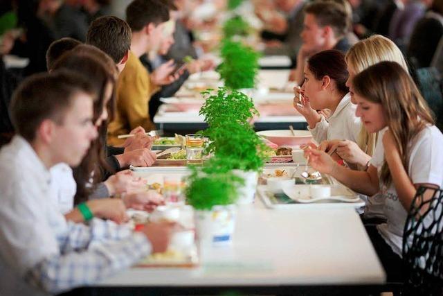 Grüne wollen einen Veggie Day in Kantinen