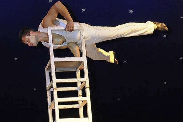 Akrobatik in luftiger Höhe