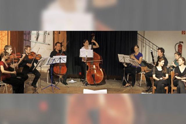 Das Mini-Sinfonieorchester