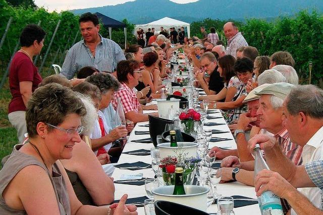 Steingässle-Fest trotzt Gewittersturm