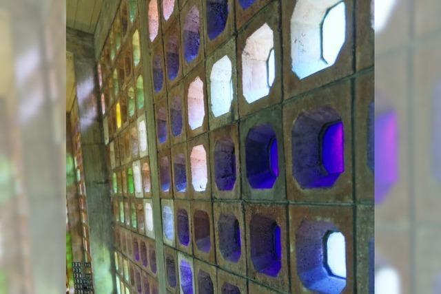 Wände scheinen zu leuchten