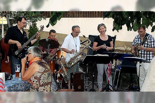 Jazz im Krone-Garten