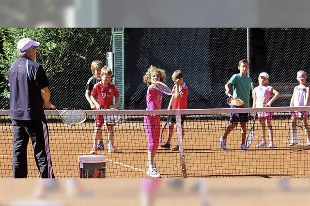 Einstieg ins Tennis macht Lust auf mehr