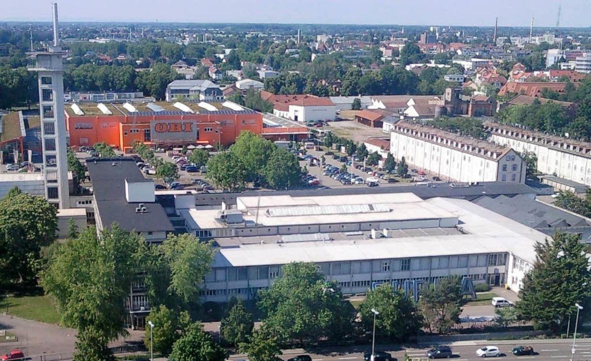 Das Kronenwiese-Areal zwischen Hauptst...g wird von drei Investoren überplant.   | Foto: Fotos: Hubert Burda Media