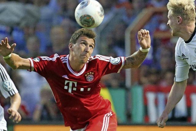 Bayern lockert sich gegen Rehden auf