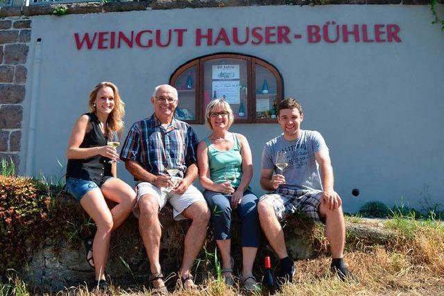 Weingut Hauser-Bühler feiert 90-jähriges Bestehen