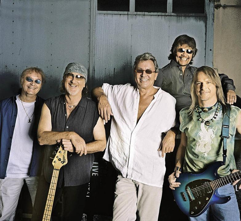 Seit elf Jahren sind sie Deep Purple: ...Don Airey und Steve Morse (von links)   | Foto: Pro