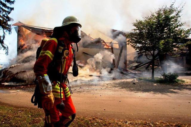Feuerwehren im Stress – vier Brände innerhalb von 24 Stunden