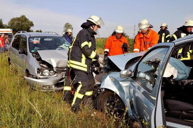 Schwerer Unfall zwischen Kappel und Rust
