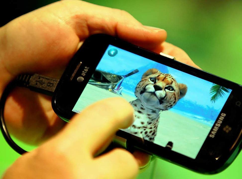 Tiere  verzücken Kinder – egal, ob in echt oder auf dem Bildschirm.    Foto: Dpa