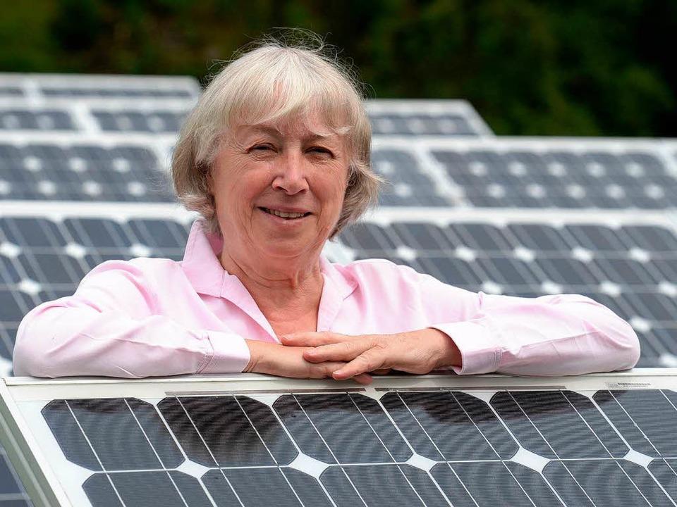 Ursula Sladek hat sich zusammen mit de... großen Energieversorger durchgesetzt.  | Foto: dpa