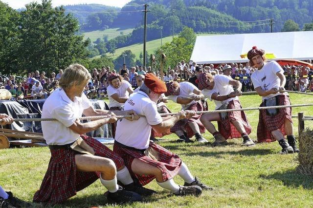 Schottische Highland Games