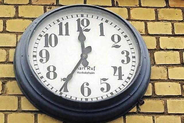BZ-BILDERRÄTSEL: Die Zeit bleibt stehen
