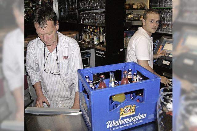 Wenn das letzte Bier gezapft ist