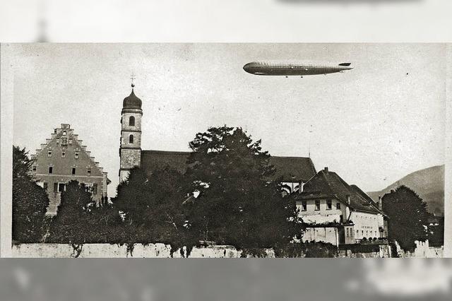 Zeppelin wochenlang Thema