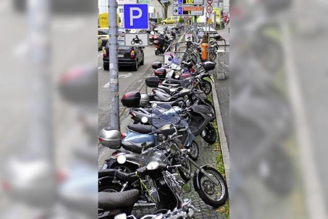 Ein paar Moto-Plätze mehr