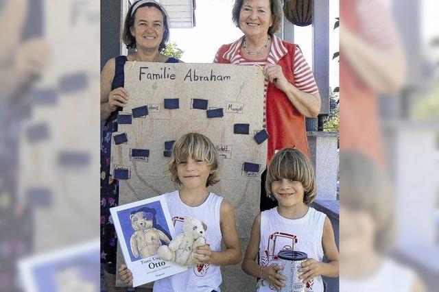 80 Kinder werden Paten von einem Stolperstein
