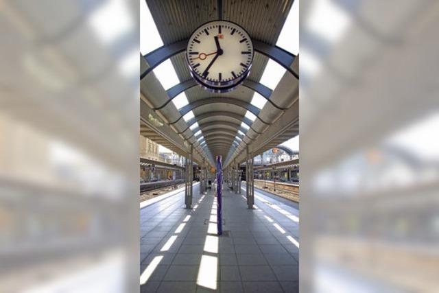 Bundesverkehrsminister Ramsauer spricht mit Bahnchef Grube über Mainzer Hauptbahnhof