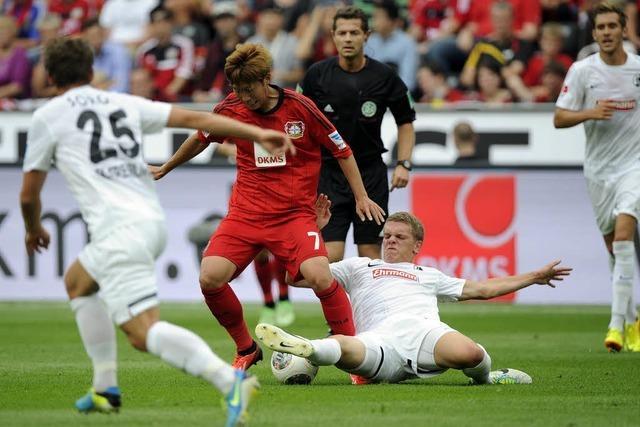 Bayer 04 Leverkusen gegen SC Freiburg 3:1