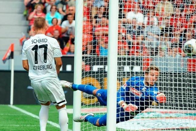 SC Freiburg mit 1:3 in Leverkusen gut bedient