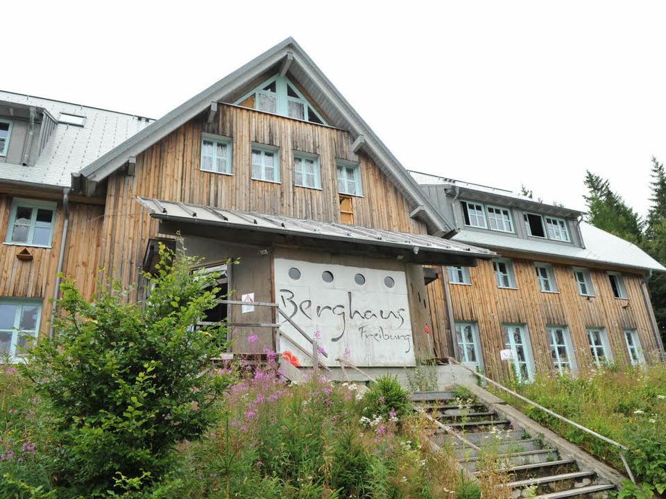 Das Berghaus auf dem Schauinsland war ...tes Sporthotel – unter anderem.   | Foto: Rita Eggstein
