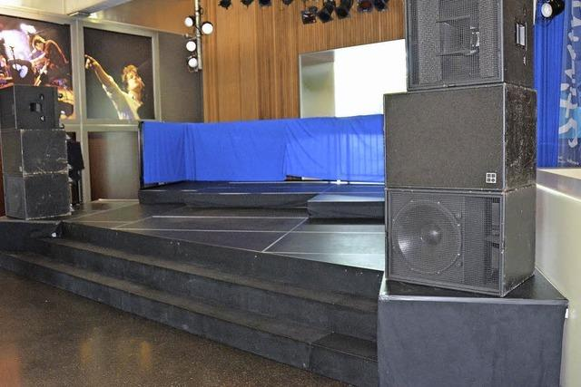 Neue Bühne im Foyer: Konzerte in Clubatmosphäre