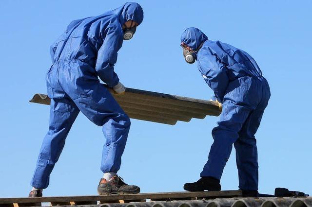 Asbest: Es gab auch schon Tote