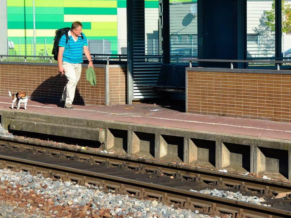 Zugausfälle gibt es  häufig auf der Hochrheinstrecke.  | Foto: Ingrid Böhm-Jacob