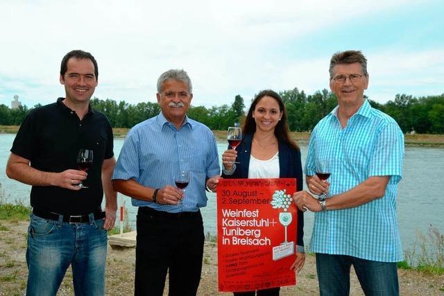 Weinfest für die Bereiche Kaiserstuhl und Tuniberg mit großem Programm
