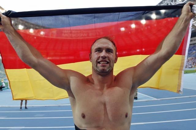 Robert Harting zum dritten Mal Weltmeister