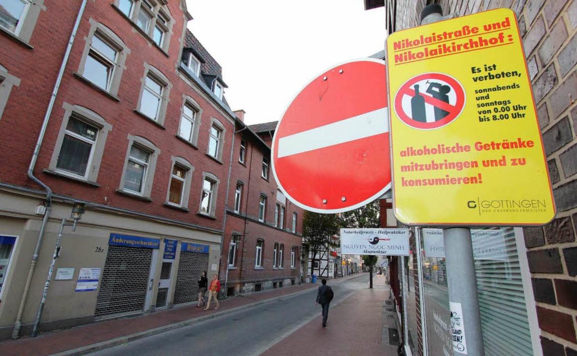 In Göttingens Innenstadt gibt es bereits ein Alkoholverbot.   | Foto: dpa