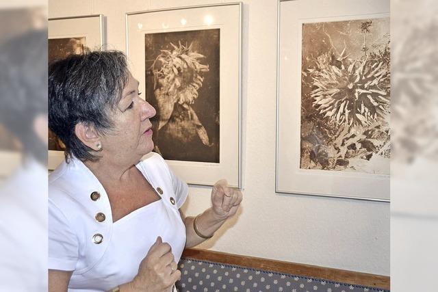 Monika Schäfer zeigt Querschnitt ihres Schaffens