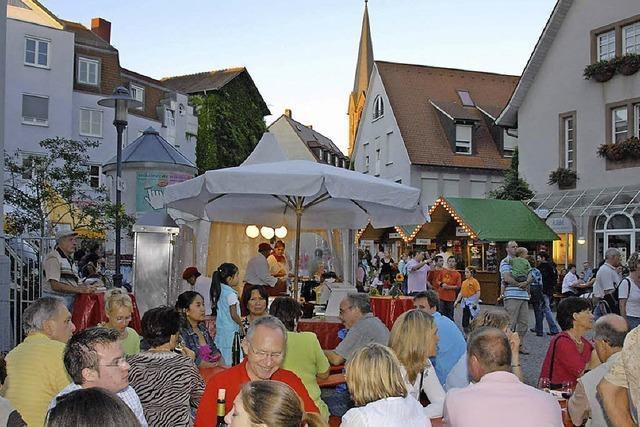 Breisgauer Weine und Sekte genießen