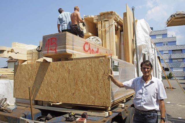 Holzhäuser nach Kundenwünschen