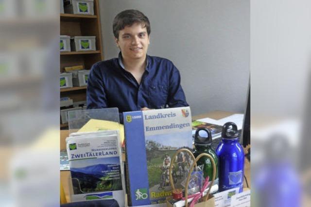 Ausbildungsberuf Tourismus-Betriebswirt: David Reichenbach berät, berarbeitet und bucht