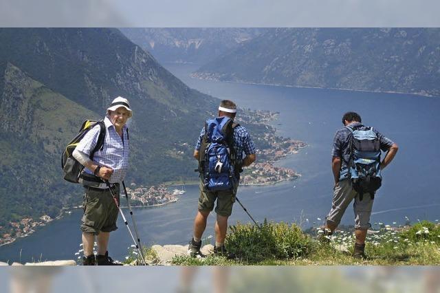 Zwischen schwarzen Bergen und Adria