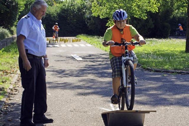 Die Übung macht den Fahrradmeister