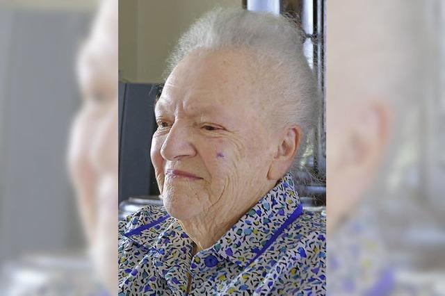 Erika Kümmerlin 90
