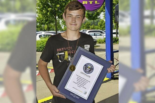 Weltrekord für Matteo