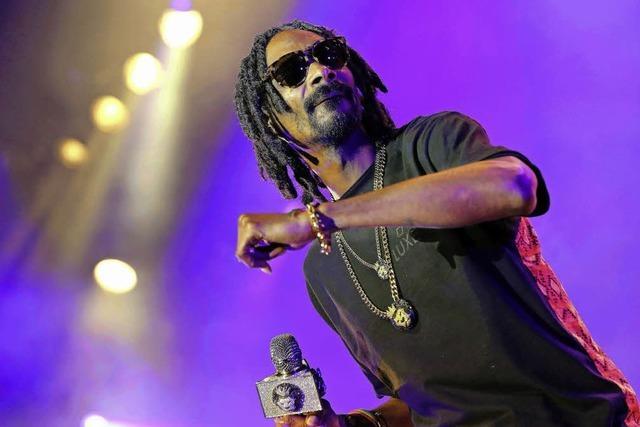 Rapper Snoop Dogg und sein Reggae-Alter-Ego Snoop Lion in Colmar